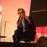 Bill Nighy on stage at Vogue (Bev) 2017