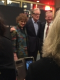 Ruthe Stein, Bill Nighy and Jack Bair Opening Night