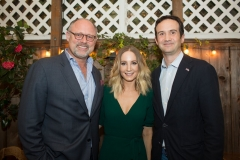 Jonathan Moscone, Joanne Froggatt and British Counsel General Andrew Whittaker (Pam Gentile) 2018