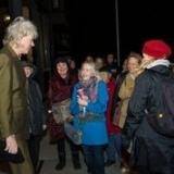 Sir Bob Geldorf & fans at Vogue (Pamela Gentile)
